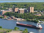 American Courage on the Keweenaw Waterway