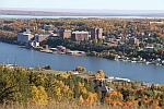 View of Michigan Tech Fall 2012