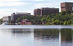 Part of the Michigan Tech campus
