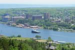 TS State of Michiganon Keweenaw Waterway