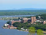 Michigan Tech Campus View 2012