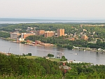 View of Michigan Tech Campus July 5, 2013