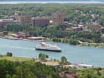 MV Clelia II on the Keweenaw Waterway